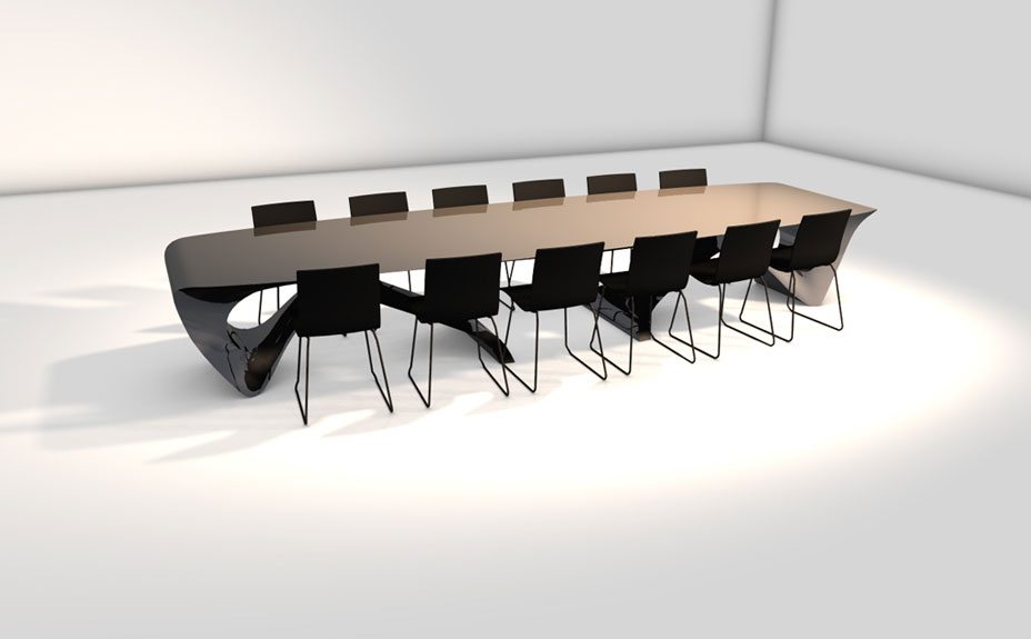 concept design boardroom table