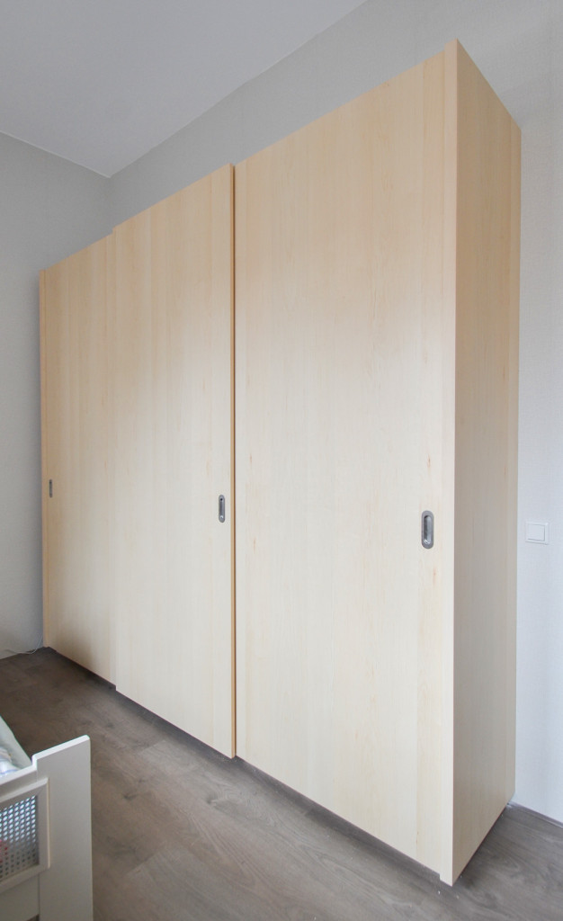 wardrobe made of hard maple