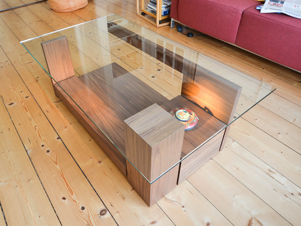 showcase coffee table