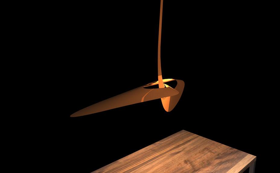 concept design suspension lamp