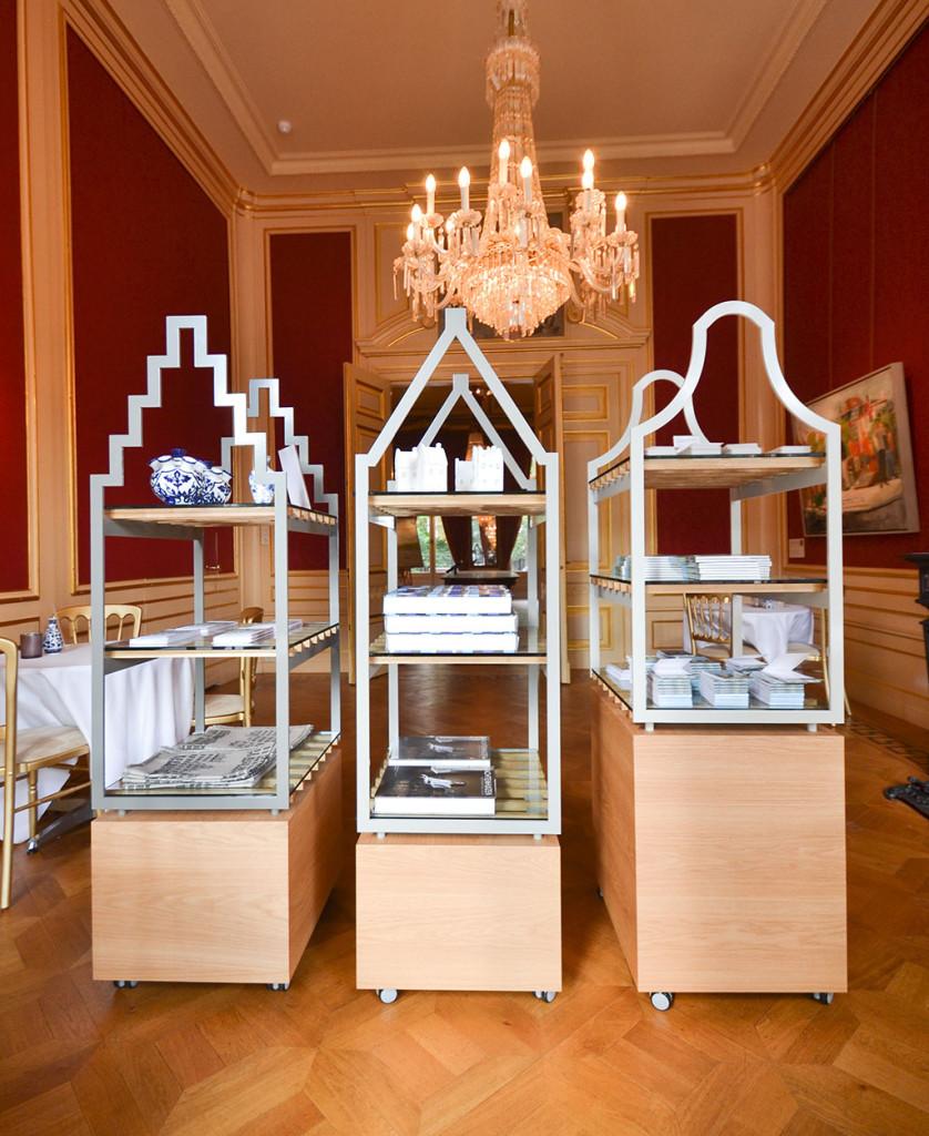 vitrines voor museum het Grachtenhuis
