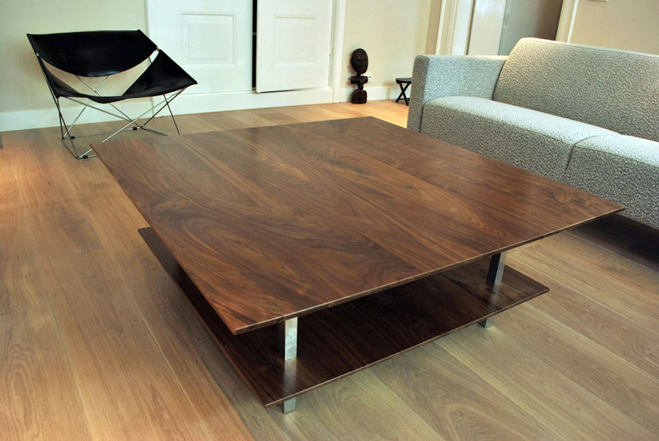 coffee table walnut