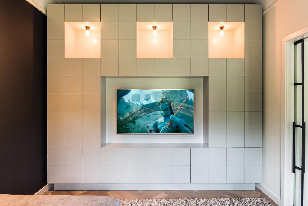 Tv En Audio Kast.Tv Kamer Daan Mulder Interior Furniture Design